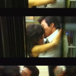 Kwon Sang-woo caught in a passionate kiss