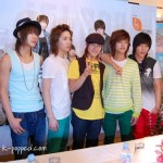 FT Island press conference in Malaysia