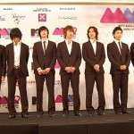 Super Junior's press conference at the 2008 MTV Asia Awards