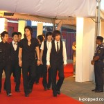 Super Junior on the Red Carpet (2008 MTV Awards Asia)
