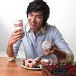 Lee Min-ho loves Dunkin' Donuts