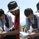 Behind the scenes with Kim Bum (New Caledonia)