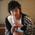 Behind the scenes with Lee Min Ho in Jeju-do