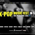 K-pop Music Fest in Sydney on Nov 12