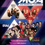 Mnet Live in Malaysia 2011 tickets go on sale