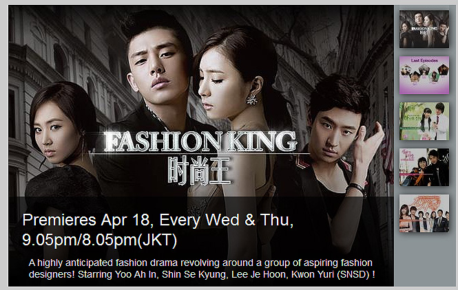 Fashion King Korean Drama