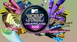 Jay Park and KARA at MTV World Stage 2012