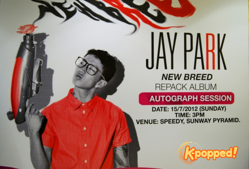 [Event Coverage] Jay Park's New Breed Autograph Session in Malaysia!