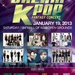 2013 Dream K-Pop Fantasy Concert in the Philippines