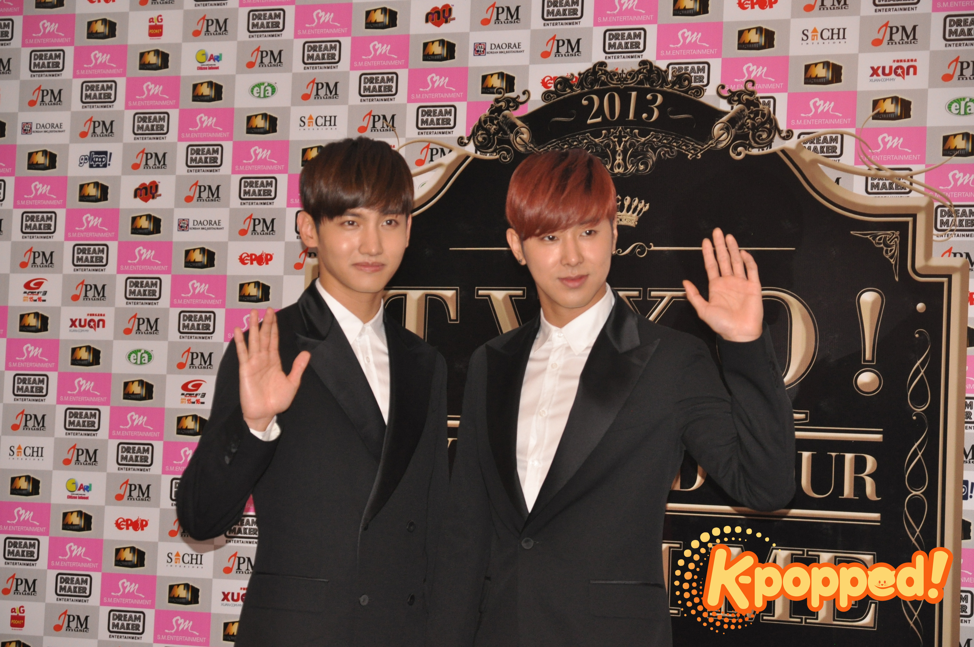 """[Event Coverage] TVXQ Live in Malaysia Press Conference """"Sorry for making the fans wait for 6 years"""""""