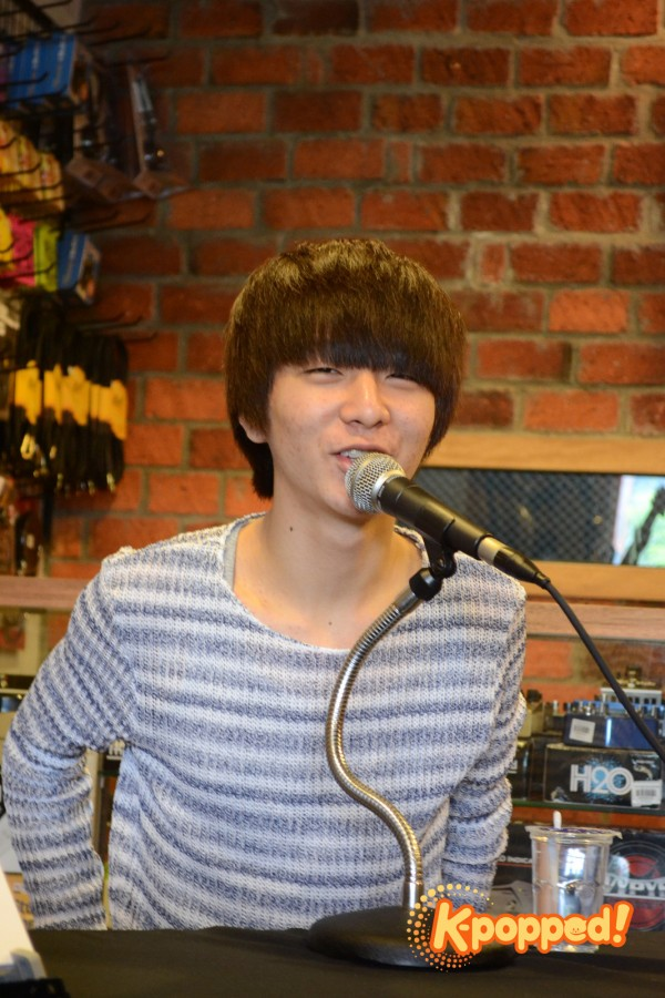 Sungha Jung in Kuala Lumpur Press Conference 4