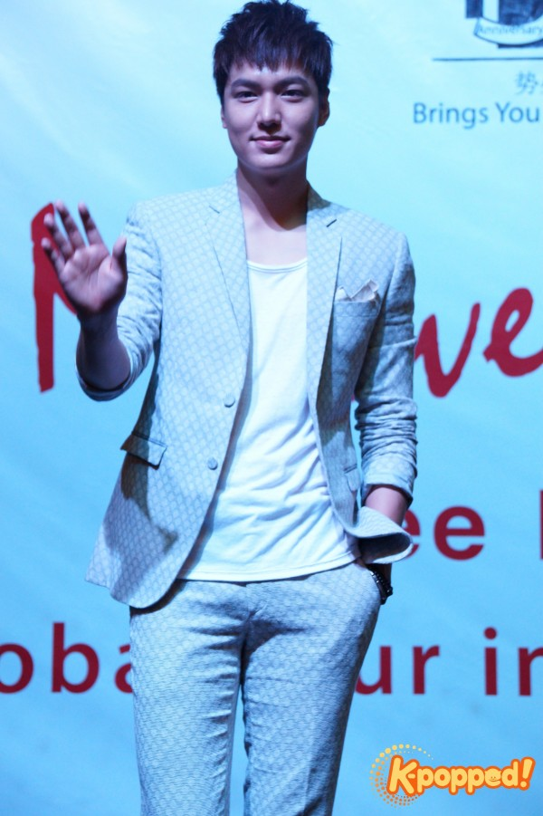 Lee Minho My Everything Malaysia press conference