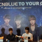 [Event Coverage] CNBLUE is all smiles at 2013 BLUE MOON World Tour Live in Malaysia Press Conference