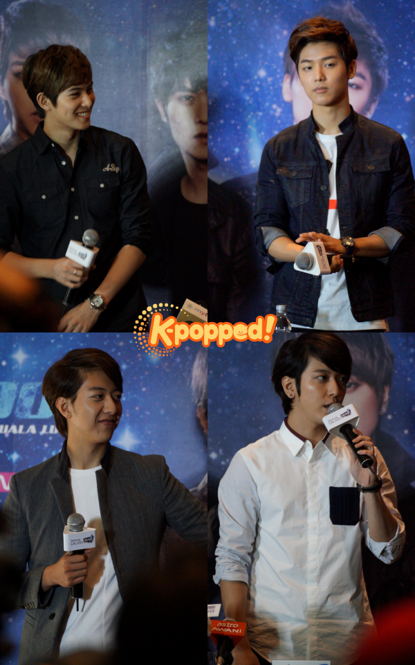 CNBLUE Blue Moon Malaysia Press Conference