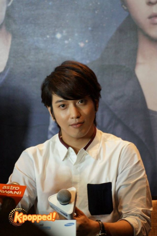 CNBLUE Yonghwa Blue Moon Malaysia Press Conference