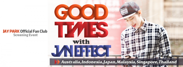 Good Times with Jay Effect Banner