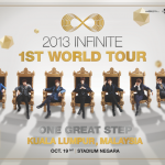 INFINITE 1st World Tour One Great Step In Kuala Lumpur