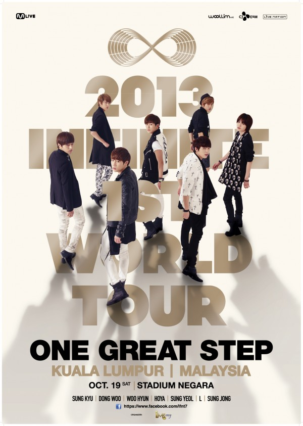 INFINITE One Great Step Malaysia poster