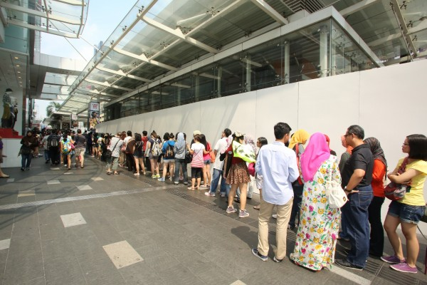 INFINITE One Great Step Malaysia ticket launch queue