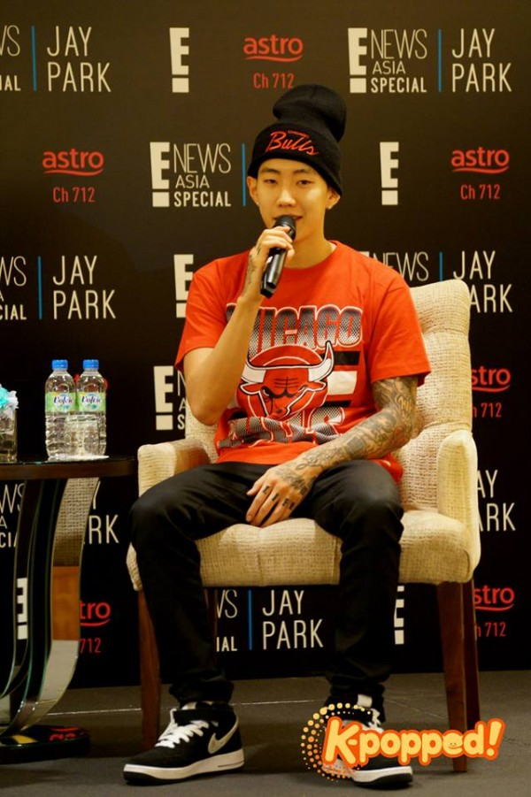 E! Special Jay Park Press Conference 2