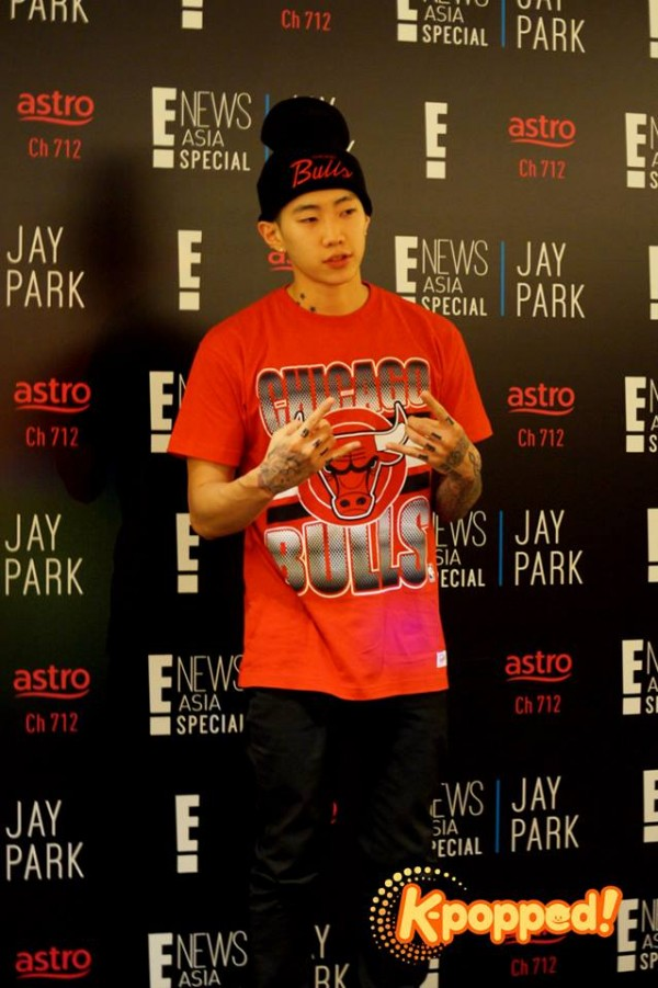 E! Special Jay Park Press Conference 4