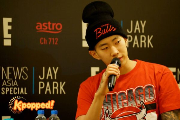E! Special Jay Park Press Conference
