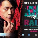 RAIN, Set to be Back in Malaysia for Twin Towers @Live 2014!!