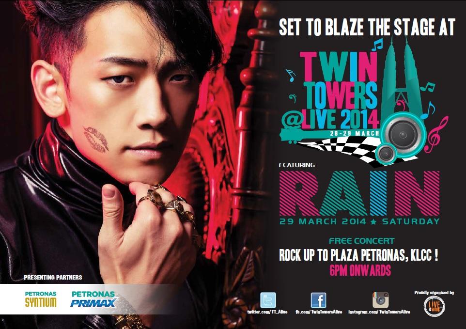 RAIN Twin Towers Live 2014 Concert
