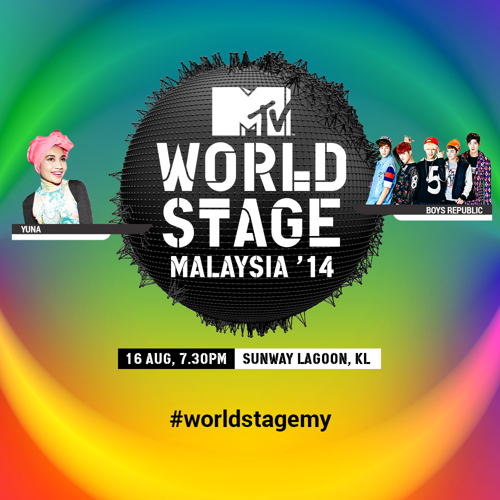 Homegrown International Star Yuna And Rising K Pop Idol Group Boys Republic To Take The Mtv World Stage For The First Time