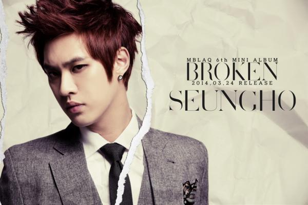 MBLAQ Seungho Broken