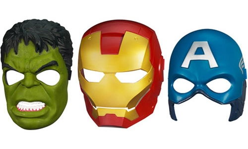 AVENGERS MASK COVER VOCAL TEAM: Undiscovered 'superheroes'