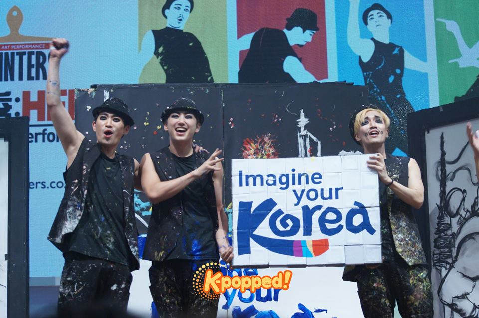 K-Festival in Malaysia Painters Hero