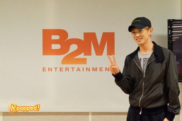 Eric Nam B2M Ent studio