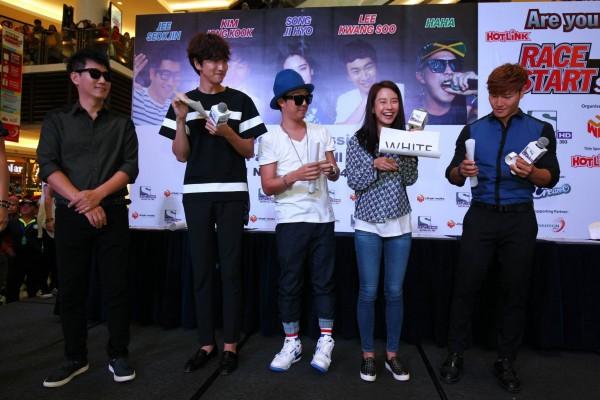 Running Man Race Start Season 2 in Malaysia Fan Meeting