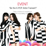 [EVENT] Be the K-POP Artist Trainee!