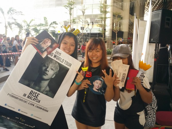 TAEYANG World Tour RISE in Malaysia Pre-Sales 2