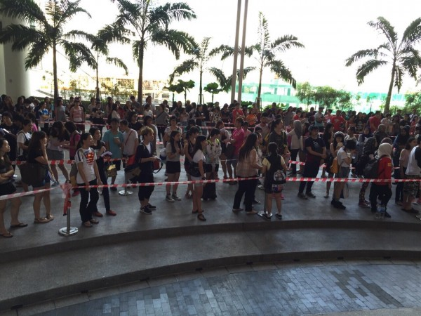 TAEYANG World Tour RISE in Malaysia Pre-Sales crowd