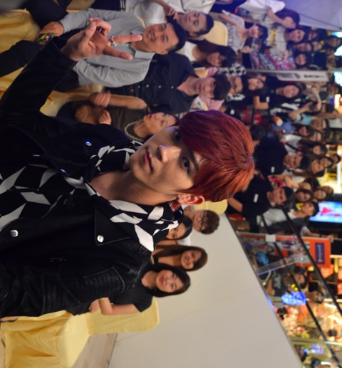 Bii My Love Live in Malaysia 2015 ticket launch 5
