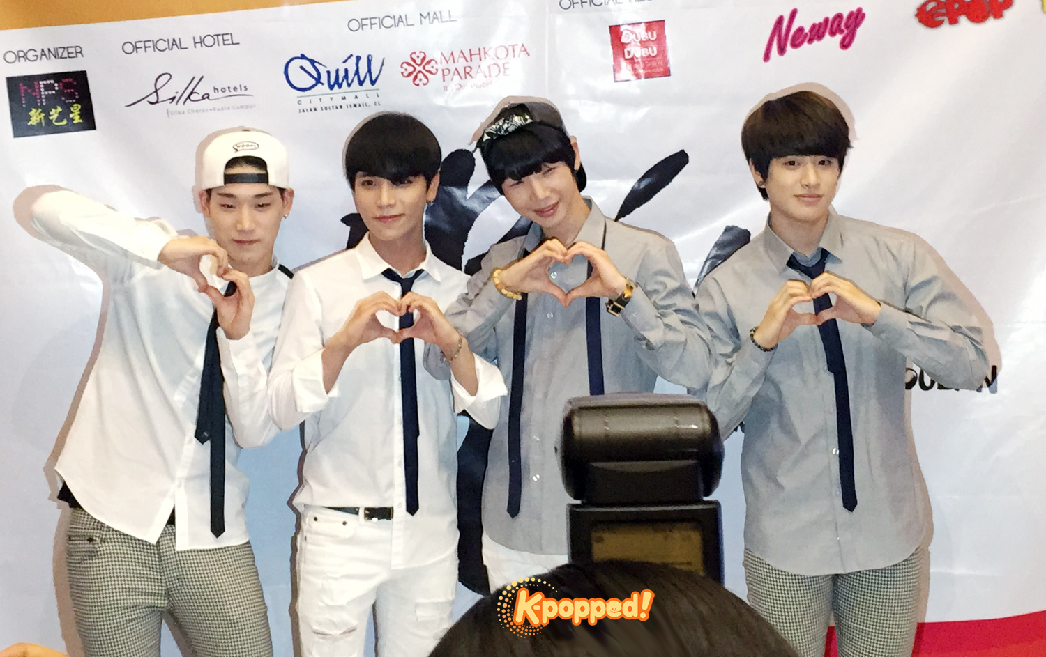 K-MUCH 1st Showcase in Malaysia Press Conference