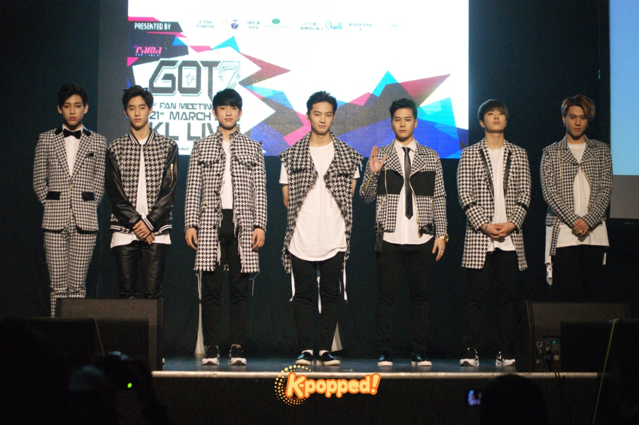 Coverage GOT7 1st Fan Meeting in Malaysia