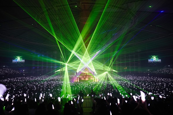 Powerful laser play..