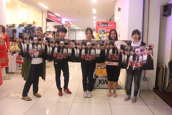 BTS The Red Bullet Malaysia Ticket Launch Fans 2