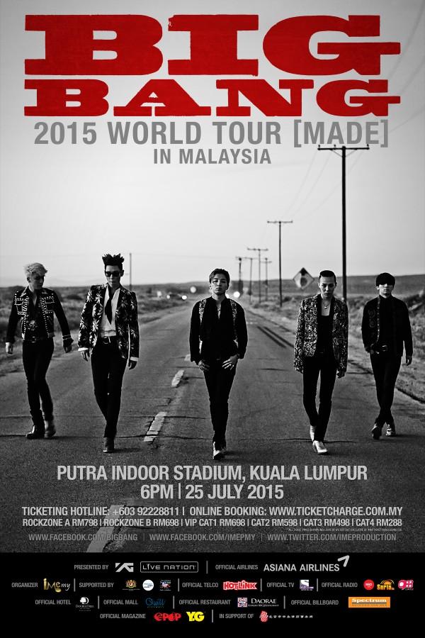 BIGBANG MADE Tour Malaysia