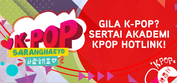 Five biggest K-pop fans in Malaysia enrolled to Hotlink Kpop Academy