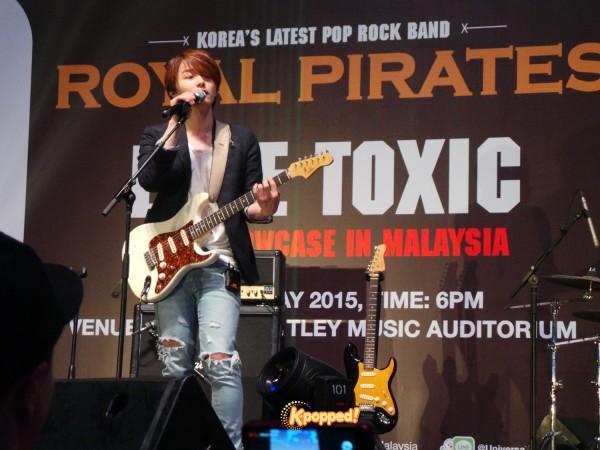 Royal Pirates Moon Malaysia showcase