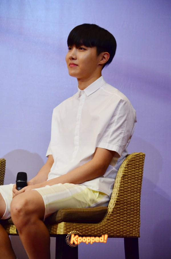 BTS J-Hope The Red Bullet in Malaysia Press Conference