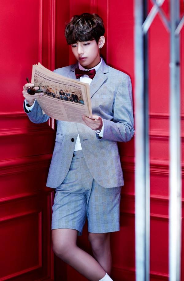 BTS Taehyung V Dope Sick 1