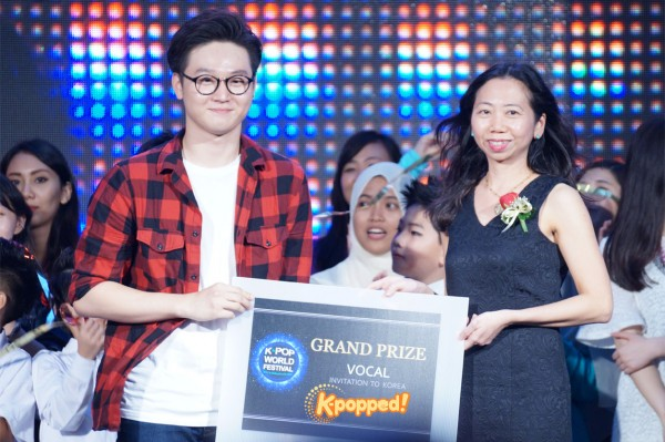 Kpop World Festival Vocal Winner Alex Goh