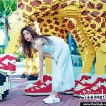 [PHOTOS] Shin Se Kyung in Legoland Malaysia