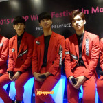 [PHOTOS] Press Conference K-pop World Festival 2015 with VIXX